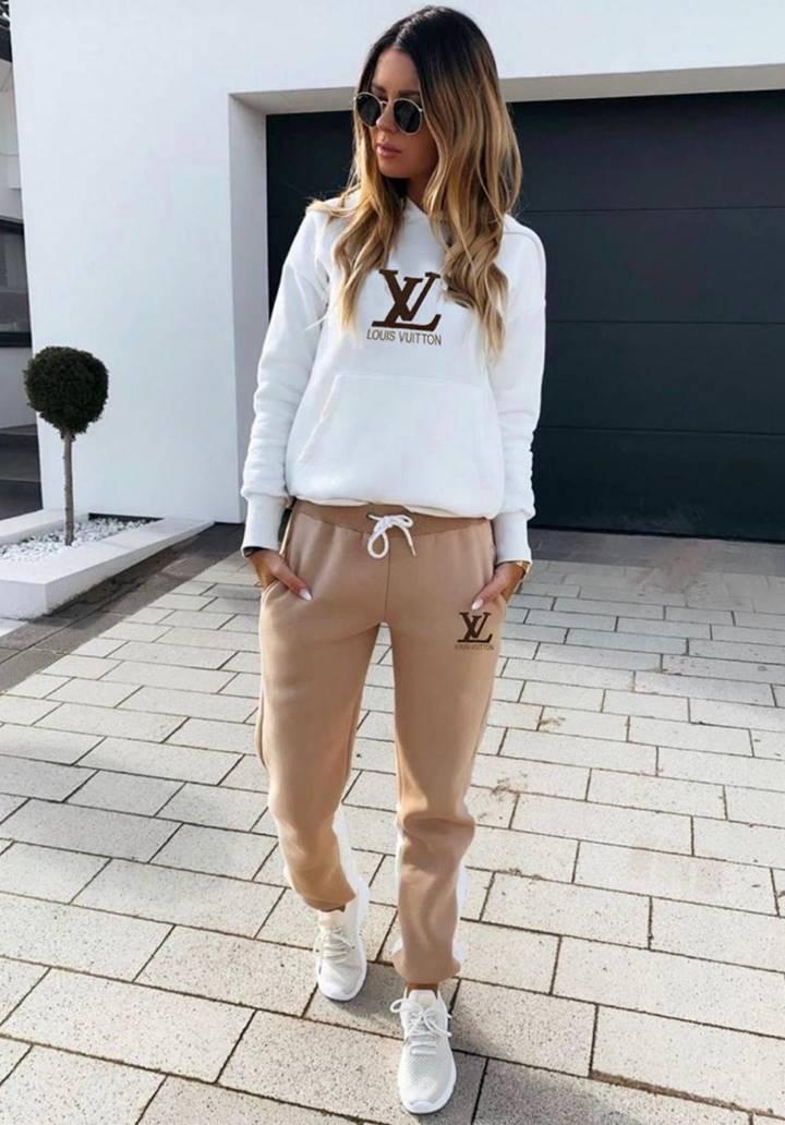 Louis Vuitton Kapşonlu İkili Takım