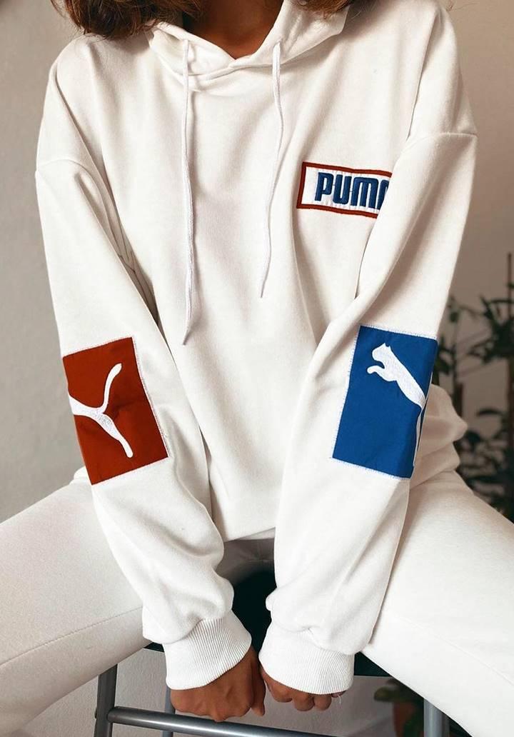 Ekru Puma İkili Spor Takım