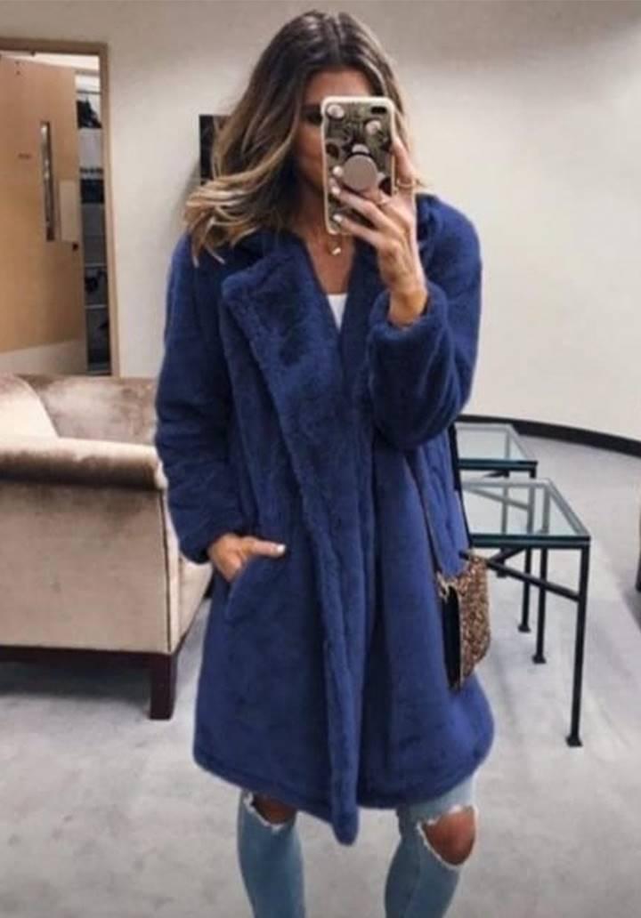 Wellsoft Cepli Zara Ceket (Mavi)