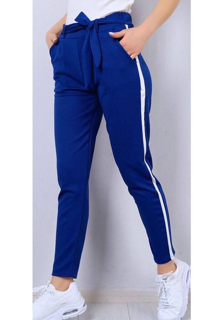 Şeritli cepli yeni sezon pantalon(sax)