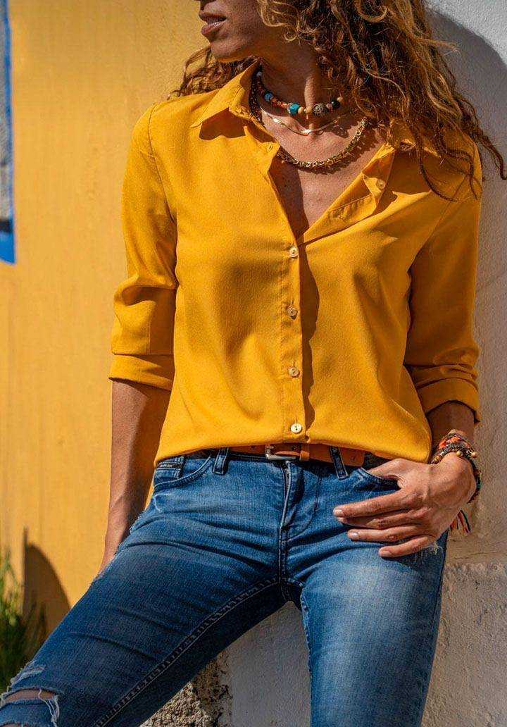 Hardal basic gömlek