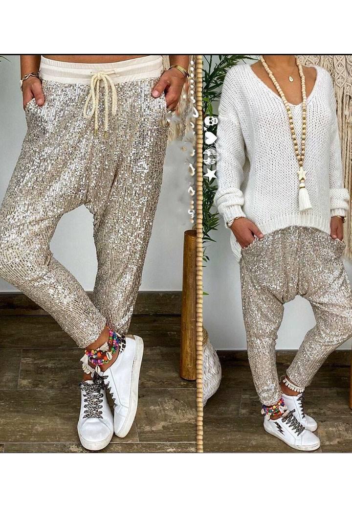 Full payet şalvar pantolon(astarlı)
