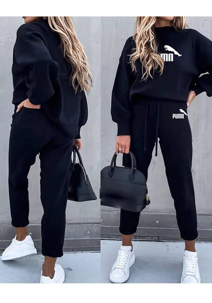 Puma İkili Spor Takım (Siyah)