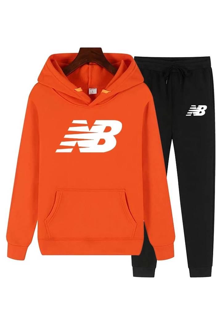 New Balance Kapşonlu Spor Takım (Orange)