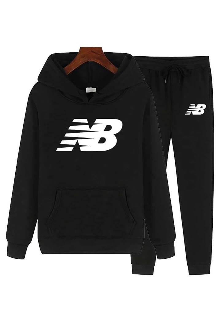 Kapşonlu Spor Takım (Siyah)