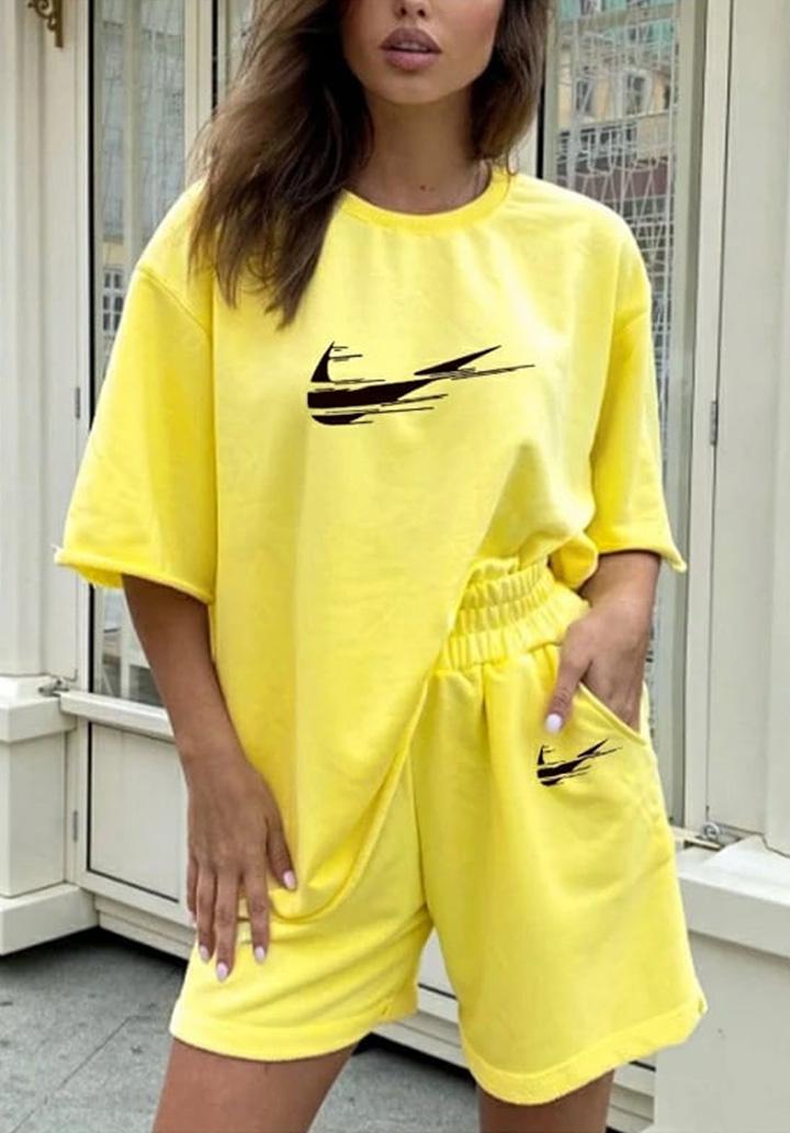 Salaş Marka Şortlu Spor Takım (Sarı)