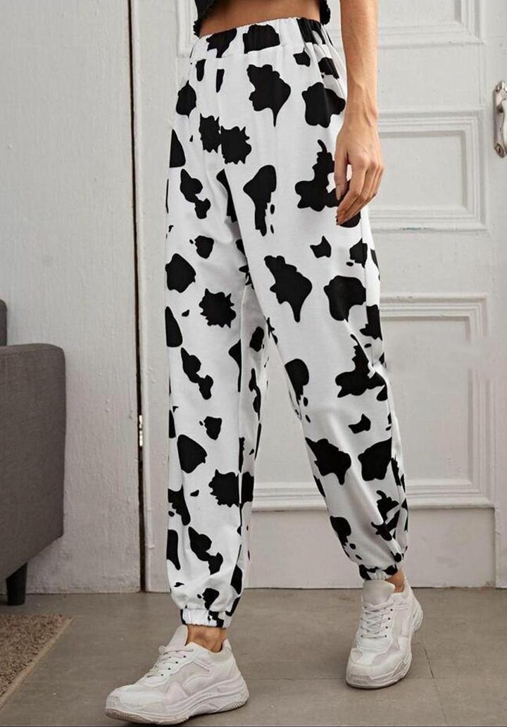 Dalmaçya Desen İki İplik Pantolon