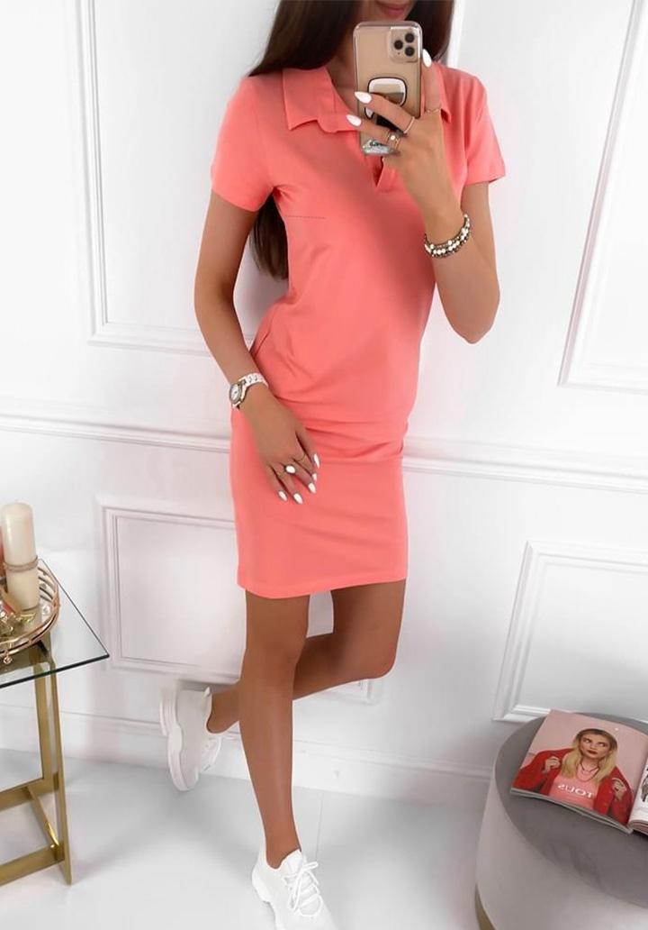 Polo Yaka Basic Elbise