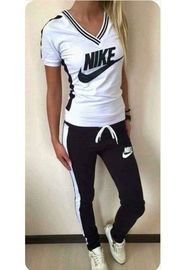 Nike şeritli yeni sezon eşofman takımı(siyah) - 2
