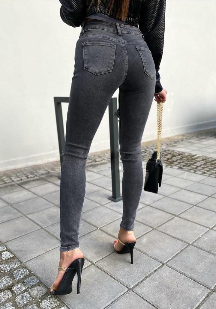 Eskitme Model Füme Jean Pantolon  - 3