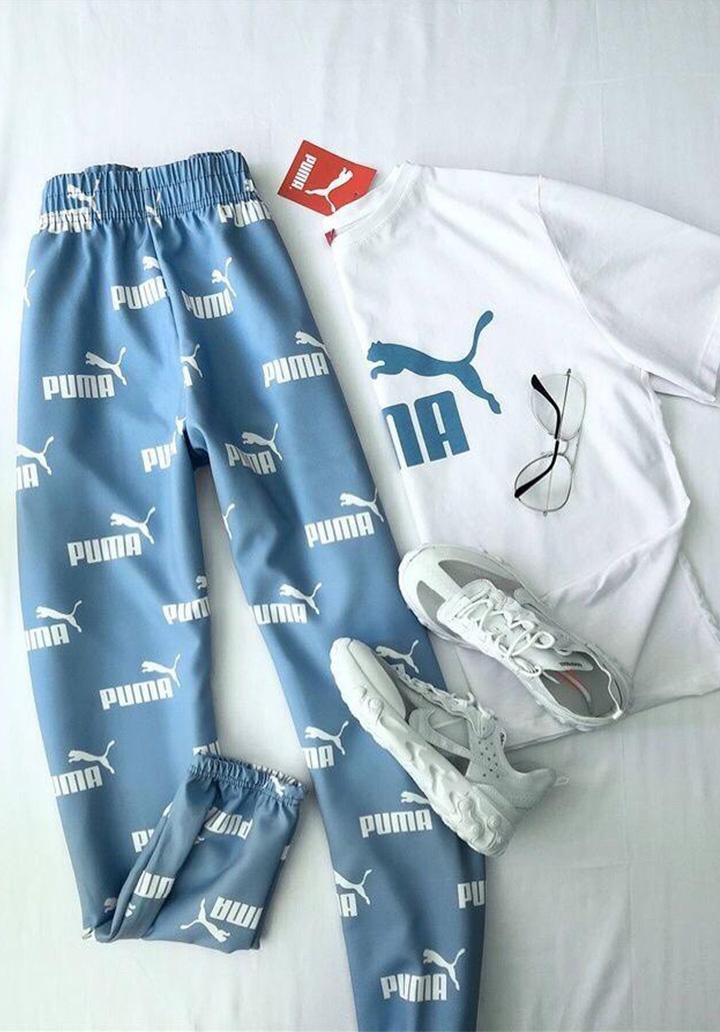 Yeni Sezon Puma İkili Takım (Mavi) - 3